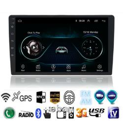 10.1In Android 9.1 HD Car Stereo GPS Navigation Radio Player Double Din WIFI