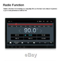 10.1'' 1DIN Android 9.1 Car Stereo MP5 Multimedia Player Radio GPS Navigation FM