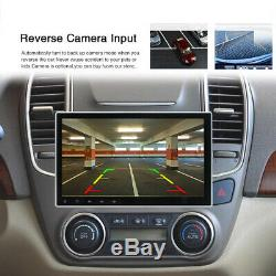10.1'' 1DIN Android 9.1 Car Stereo Radio GPS MP5 Multimedia Player Wifi Hotspot
