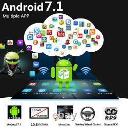 10.1 1DIN Android 9.1 Stereo Radio Player WIFI GPS Navigation 2.5D Touch Screen