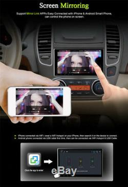 10.1 1 DIN Android 8.1 Octa-Core 2G RAM+32G ROM Car Stereo Radio GPS Wifi 3G 4G
