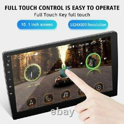 10.1 2DIN Car MP5 Player Android 9.1 Touch Screen Stereo Radio USB AUX Camera