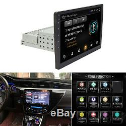 10.1 HD Car Stereo Radio GPS Bluetooth Android 8.1 Head Unit Mirror Link WiFi