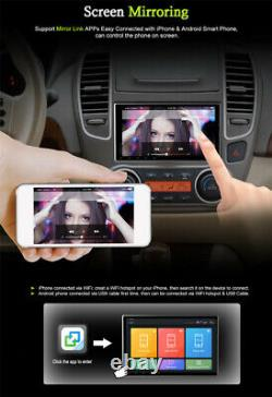 10.1in Android 9.1 Car Stereo GPS Navigation Radio Player 2Din WIFI Mirror Link