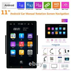 11 HD Rotation Screen Car Navigation Android Wifi Player Bluetooth Video 1+16G