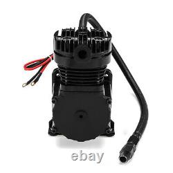 12V DC 200 PSI 444C Max Horn Air Compressor With Relays Switch Car Truck Boat RV
