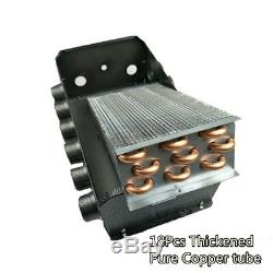 12 Hot Air Vent Car Universal Heater Water Heating 12V Truck Tractor Cab Warmer