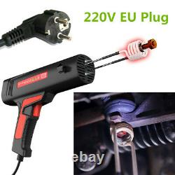 220V 900W Magnetic Induction Heater Coil Kit Bolt Nut Stud Flameless Remove Tool