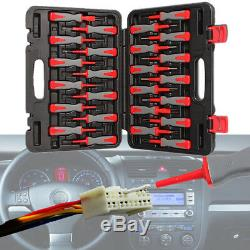 25x Car Terminal Removal Kit Crimp Wiring Connector Pin Extractor Puller Tools