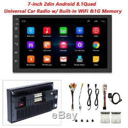 2DIN Android 8.1 7in Radio GPS Navigation Audio Stereo Car Multimedia MP5 Player