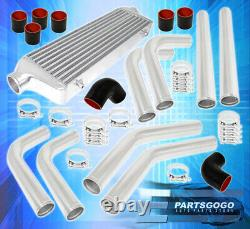 2.5Inlet Fmic Front Mount Intercooler 64mm Turbo Aluminum Pipes Piping Kit