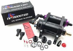 300LPH 044 FUEL PUMP KIT with Mounting Bracket & Inline Fuel Filter 650HP Turbo