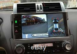 4CH Car HD Seam 360° Panorama System WithFront Rear Left Right Camera for Car DVR