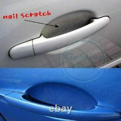 4x Car Door Handle Clear Self-Adhesive Scratch Protective Film Cover Vinyl Sheet