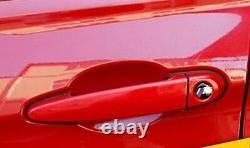 4x/set Universal Invisible Car Door Handle Clear Scratches Protective Film Sheet