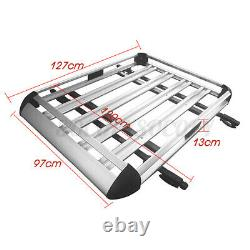 50''X 38'' Universal Roof Rack Extension Cargo Car Top Luggage Carrier Basket