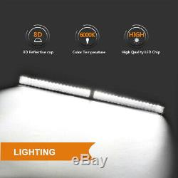 54Inch 4000W LED Light Bar Combo + 42 +4 CUBE PODS OFFROAD SUV For Ford 52/40