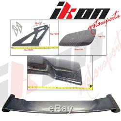 57 Inch JDM GT RS Type Carbon Fiber Deck Trunk Spoiler Wing(Toyota)