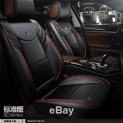 6D Full Surrounded Seat Cover Cushion Protect Front & Rear For Car SUV Truck