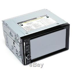 6.2 Touch Screen DVD/CD Player 2-Din Car Stereo Reveiver Radio Audio Bluetooth