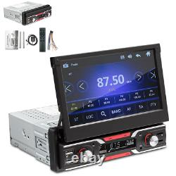 7 1 DIN Car Stereo Radio MP5 FM Player Touch Screen GPS Navigation Mirror Link