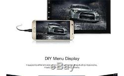 7 2-Din Quad-core Ultra-thin Wifi Car Android 6.0.1 Radio Player GPS Navigation
