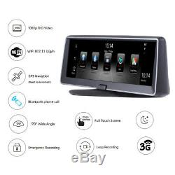 7.84 Android Night Vision Car GPS Navigation WIFI In Dash Stereo Radio Map