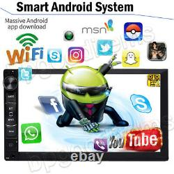 7 Android System Wifi Stereo Car MP5 Player Bluetooth Radio GPS Sat Navi FM AM