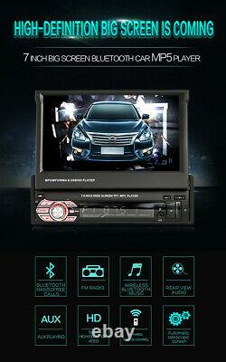 7 In Car Stereo Radio HD Mp5 Player Touch Screen Bluetooth Radio 1Din FM USB SD