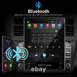 9.7 Vertical Car Stereo Radio Android 9.0 2 DIN Touch Screen GPS Bluetooth MP5