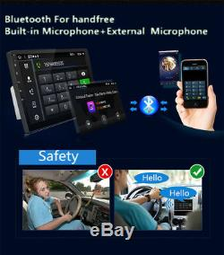 9 Android 7.1 HD Touch Screen Car Stereo Radio GPS Navigation Wifi MP5 Player