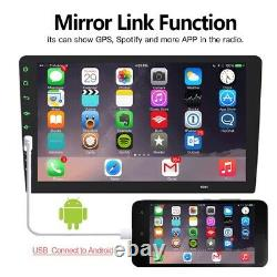 9 Single 1Din Touch Screen Head Unit Car Stereo Radio Mirror Link USB/TF/AUX