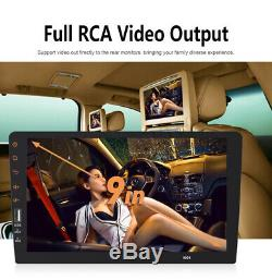9'' bluetooth Touch Screen Car Stereo MP4 MP5 Player 1080P Radio 1DIN In-dash