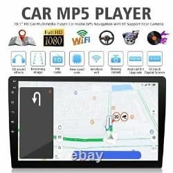 Android 10.1 Touchscreen 2 DIN Car Stereo Radio MP5 Player Bluetooth WIFI GPS