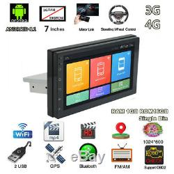 Android 8.1 System GPS Wifi 3G 4G BT DAB Mirror Link OBD 7 inch Car Stereo Radio