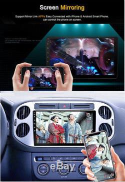 BT Car Stereo Radio 2 DIN 10.1 Touch HD FM Player GPS Android 8.1 Mirror Link