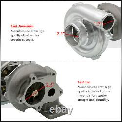 Brand New! T3/T4 T3 T4 Ball Bearing Turbo Charger Boost. 63 A/R Air Ratio T04E