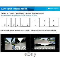 Car Full Parking View withFront/Rear/Right/Left Cameras Video Monitor Accessories