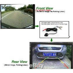 Car Parking Assistance Panoramic 360° Rearview Camera System With Monitor System