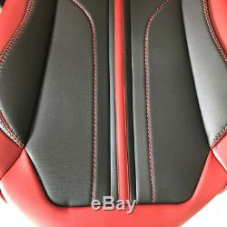 Deluxe Microfiber Leather Seat Cover Full Set Cushion 5-Sit For Car Accessories