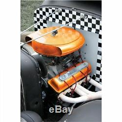Deluxe Retro Style Cadillac, Oldsmobile, Steel Air Cleaner with Filter & Hardware