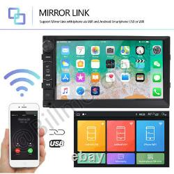Double 2DIN 7 Android 8.1 GPS 4Core Car Stereo Radio GPS Navigation 1024600