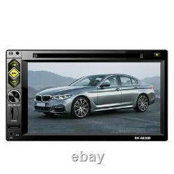 Double 2Din 6.2 In Dash Car Stereo DVD CD Player Touch Screen FM Radio USB TF