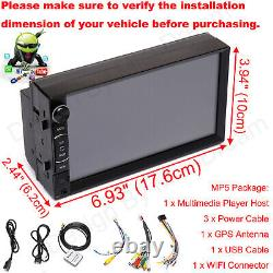 For Sony Lens Bluetooth Car Stereo Android Player Radio Mirrorlink-GPS+HD Camera
