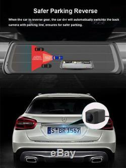 Full Touch IPS Special 4G Car DVR Camera Android Mirror GPS Bluetooth WIFI ADAS