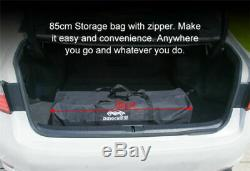 Fully Automatic Portable Car Tent Umbrella Sun Shade Roof Cover UV Protection US