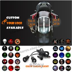 LED Car Door Welcome Customize Your Logo Laser Projector Ghost Shadow Spot Light