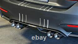 Left +Right 63mm 89mm Glossy Carbon Fiber Car Dual Exhaust Pipe Tail Muffler Tip