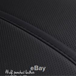 Microfiber Leather 6D Surround Car Seat Cover Full Set Seat Cushion Protector