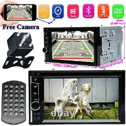 Mirror Link For GPS Car Stereo 2DIN DVD CD A5 System HD Radio Player AM withCamera